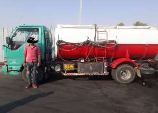 ضبط سيارة نقل بالسويس محملة بـ3500 لتر سولار مهرب
