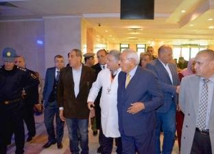 محافظ الدقهلية يزور مستشفى الكبد المصري في شربين