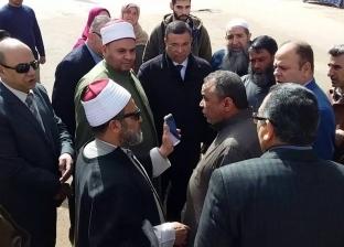 محافظ كفر الشيخ يوجه بإنشاء مسجد أمام تقسيم النيابة الإدارية