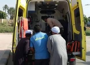 مصرع طفلتين توأم وإصابة 11 في حوادث متفرقة بطريق الضبعة