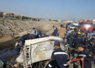 شهود عيان يروون تفاصيل حادث أتوبيس الإسكندرية