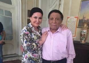 """وفاء سالم تنشر صورة لها مع عادل إمام في """"عوالم خفية"""""""