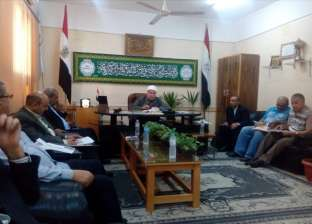 رئيس منطقة كفر الشيخ الأزهرية يوجه بتفعيل دور المكتبة داخل المعاهد