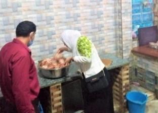 «كانت معدة للشوي».. ضبط لحوم ودجاج فاسد داخل مطعم شهير بطلخا