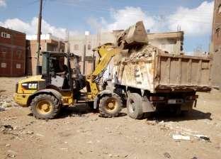 """بالصور  حملة لنظافة شوارع وقرى """"الحامول"""" بكفرالشيخ"""