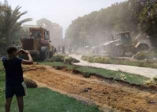 إزالة 34 حالة تعد على الأراضي الزراعية في نجع حمادي
