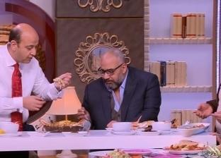 """بيومي فؤاد يتناول """"فياجرا أسماك"""": """"خايف دكتور الدايت يكون بيتفرج عليا"""""""