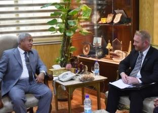 محافظ أسوان يستقبل سفير نيوزلندا لمناقشة زيادة الحركة السياحية