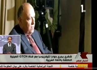 سامح شكري: سياسات الدوحة أسالت دماء الأبرياء.. وقطر تحتضن الإرهابيين