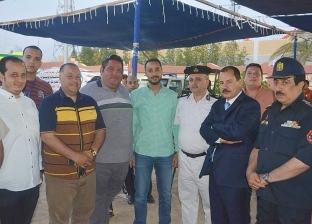 مدير أمن جنوب سيناء يتفقد لجان الاستفتاء في شرم الشيخ