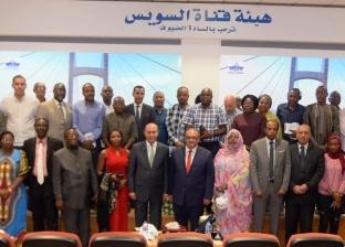 مميش للإعلاميين الأفارقة: حريصون على الشراكة الاقتصادية مع دول القارة