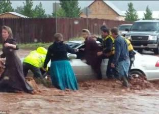 الفيضانات تشرد 20 ألف شخص شمال الأرجنتين