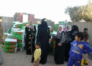 الأورمان توزع 10 آلاف بطانية و75 طن لحوم على القرى الفقيرة في أسيوط