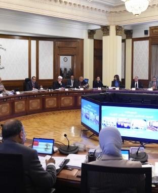اجتماع مجلس الوزراء اليوم 15 مايو