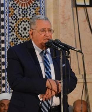 احتفالية وزارة الأوقاف بليلة الإسراء والمعراج بجامع الحسين