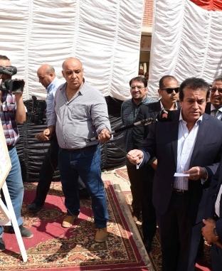 جولة رئيس الوزراء بمحافظة أسيوط