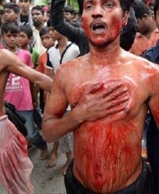 شيعة يحتفلون بعاشوراء في بنجلاديش