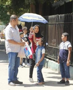 حديقة الحيوان تستقبل الأهالي في أول أيام عيد الأضحى المبارك