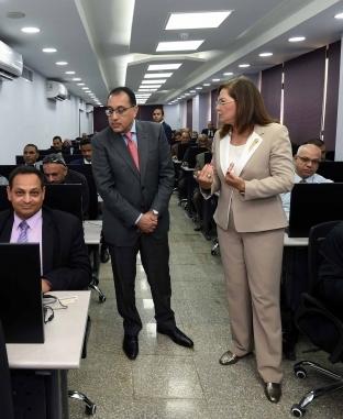"""افتتاح مركز تقييم القدرات والمسابقات بـ""""المركزي للتنظيم والإدارة"""""""