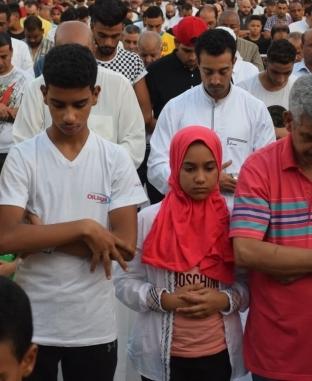 صلاة عيد الأضحى المبارك من ميدان مصطفى محمود