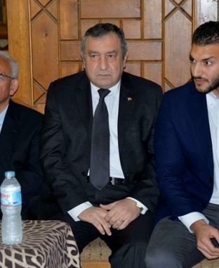 عزاء الإعلامي الراحل حمدي قنديل بمسجد عمر مكرم