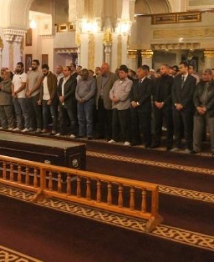 جنازة نبيل زكي من مسجد الرحمن الرحيم