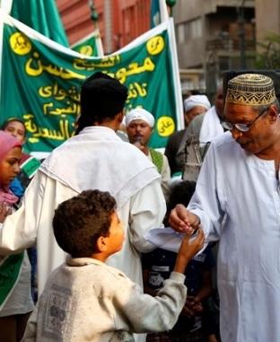موكب الطرق الصوفية احتفالا بالسنة الهجرية الجديدة
