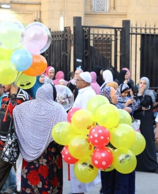 صلاة عيد الأضحى من مسجد السيدة زينب