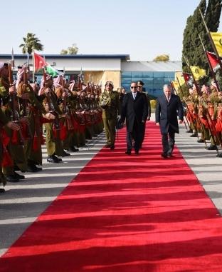 زيارة الرئيس عبدالفتاح السيسي للأردن