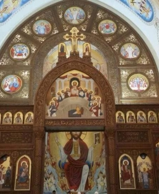 الكاتدرائية تتجمل للاحتفال باليوبيل الذهبي الشهر المقبل