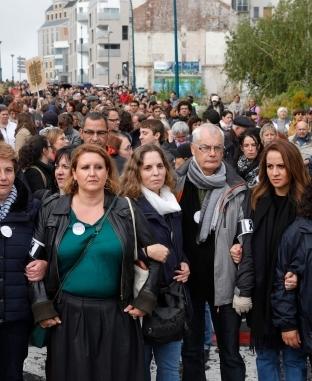 """مظاهرة لأولياء الأمور ومديري المدارس في شمال """"باريس"""""""