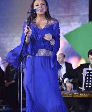 اليوم.. أنغام تشارك في حفل المملكة السعودية بيومها الوطني