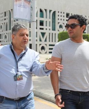 آسر ياسين يمكث في الأقصر على نفقته الشخصية استعدادا لتكريمه