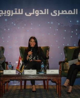 """""""المشاط"""" تقعد مؤتمرا للإعلان عن التحالف المصري - الدولي للترويج للسياحة"""