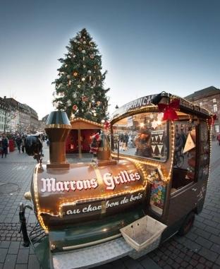 سوق الميلاد المستهدف في فرنسا.. الأقدم في أوربا