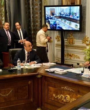 الاجتماع النهائي للجنة دراسة برنامج الحكومة بالبرلمان