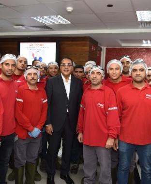 رئيس الوزراء يتفقد 4 مصانع خلال زيارته للمنطقة الحرة بمدينة نصر