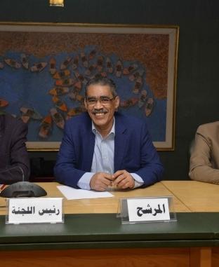 ضياء رشوان يتقدم بأوراق ترشحه لانتخابات نقابة الصحفيين