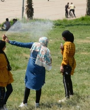 الحدائق تستقبل المصريين في ثالث أيام العيد