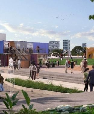 تصميمات «النهر الأخضر» في العاصمة الإدارية الجديدة