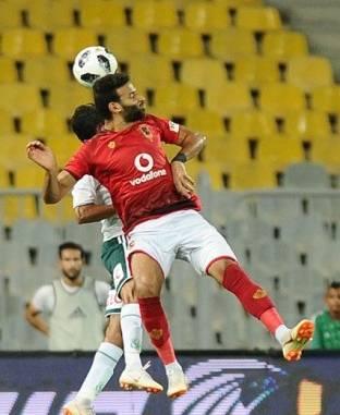 لقطات من فوز الأهلي على المصري (2/0) في الدوري