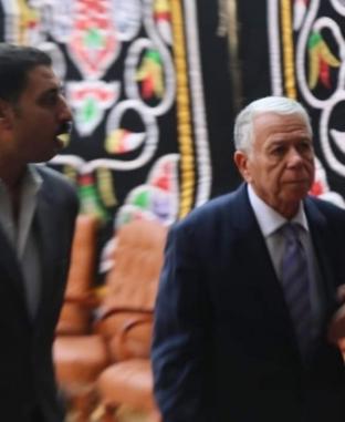 بدء مراسم جنازة الكاتب الصحفي إبراهيم سعدة بأخبار اليوم