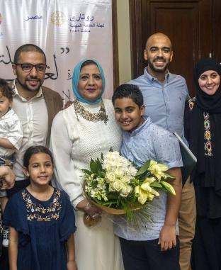 """تنصيب فاطمة أبوحطب بروتاري مصر وتوقيع بروتوكول مع """"الوطن"""""""