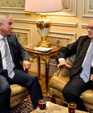 السفير الإيطالي يلتقي أعضاء في لجنة العلاقات الخارجية بالبرلمان