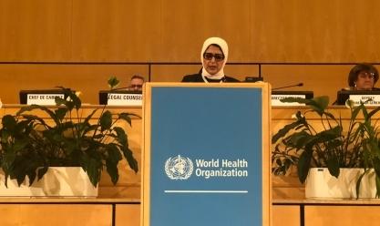 """زايد: نعمل على تطوير أنظمتنا .. ونسعي للتعاون مع """"الصحة العالمية"""""""