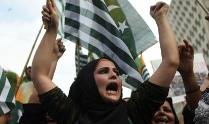 """مسيرة في """"كراتشي"""" الباكستانية ضد الحكومة الهندية"""