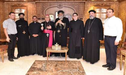 البابا يستقبل سفير الفاتيكان في مصر
