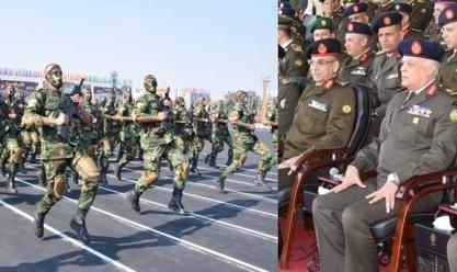 القوات المسلحة تحتفل بتخرج دفعة جديدة من ضباط الكلية الحربية