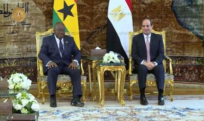 """3 لقاءات لـ""""السيسي"""" لترسيخ أمن أفريقيا ودعم جنوب السودان"""