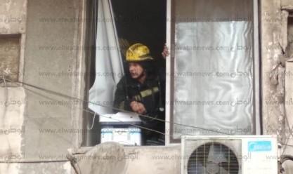 حريق هيئة «كهرباء الريف» في العباسية